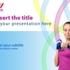 Powerpoint templates exercise fitness template monster fitness ppt template fitness toneelgroepblik Images