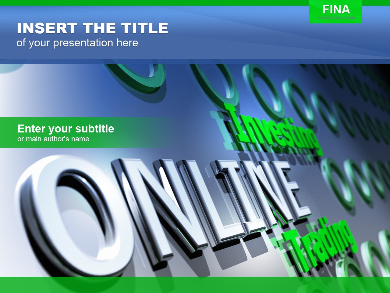 Investment Company PowerPoint Template
