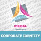 Media Corporate Identity Template 25151