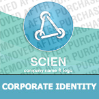 Science Corporate Identity Template 25153