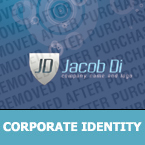 Security Corporate Identity Template 25405
