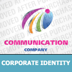 Communications Corporate Identity Template 25409
