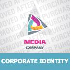 Media Corporate Identity Template 25410