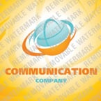 Communications Logo  Template 25413