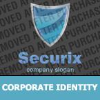 Security Corporate Identity Template 25491