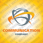 Communications Logo  Template 25495