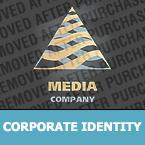 Media Corporate Identity Template 25585
