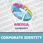 Media Corporate Identity Template 25642