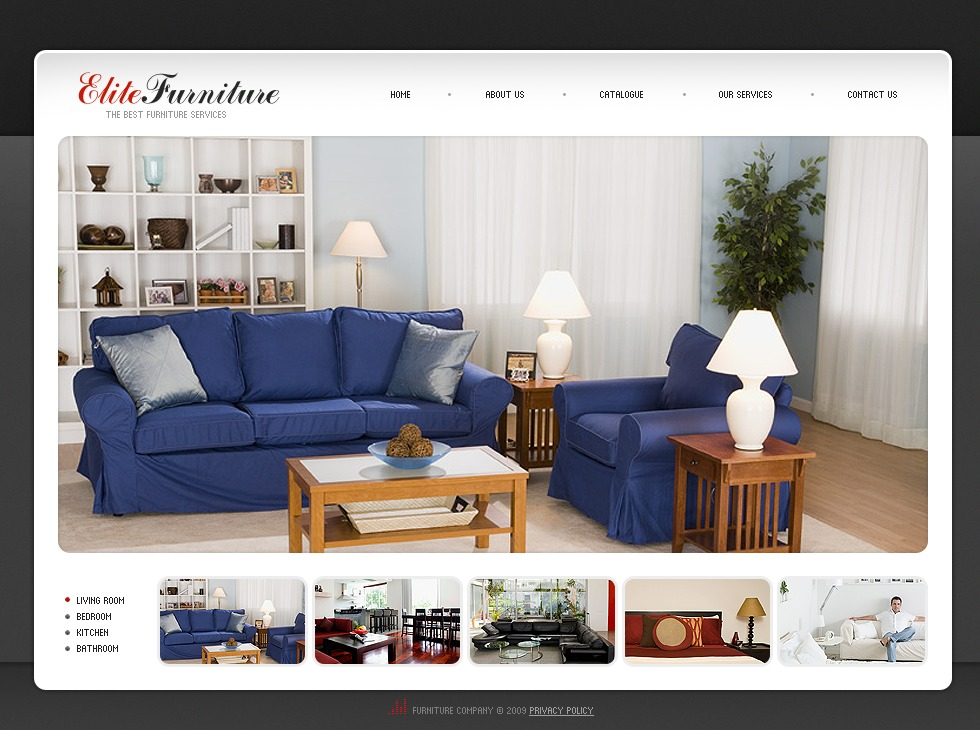 Furniture flash template 25676 for Furnish decorador de interiores