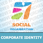 Society and Culture Corporate Identity Template 25771
