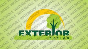 Exterior Design Logo Template vlogo