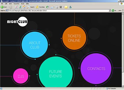 Page d'accueil HTML du kit graphique #25888