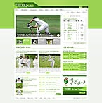 JavaScript Animated: Portal Sport Full Site CSS Most Popular Wide Templates jQuery Templates