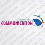 Communications Logo  Template 25997