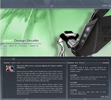 Многостраничный шаблон для сайта (Template Monster № 2604)