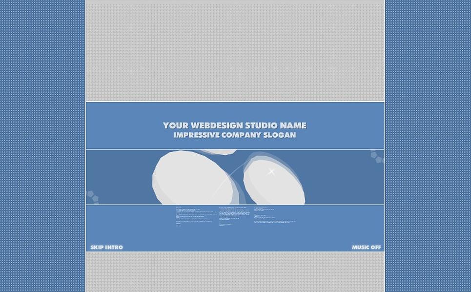 Flash ролик №2676 на тему Шаблон сайтов веб-дизайна New Screenshots BIG