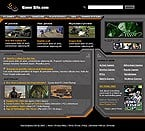 denver style site graphic designs game site portal gamer club tournament news releases pc playstation play station