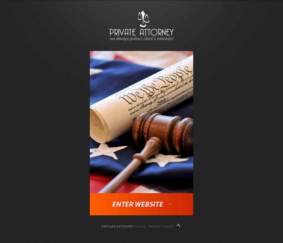 Attorney Website Templates By Daniel C Adams