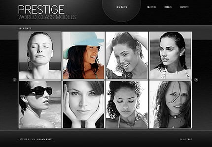 ADOBE Photoshop Template 26035 Home Page Screenshot