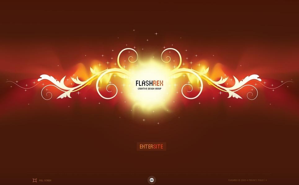 Flash CMS Vorlage für Designstudio  New Screenshots BIG