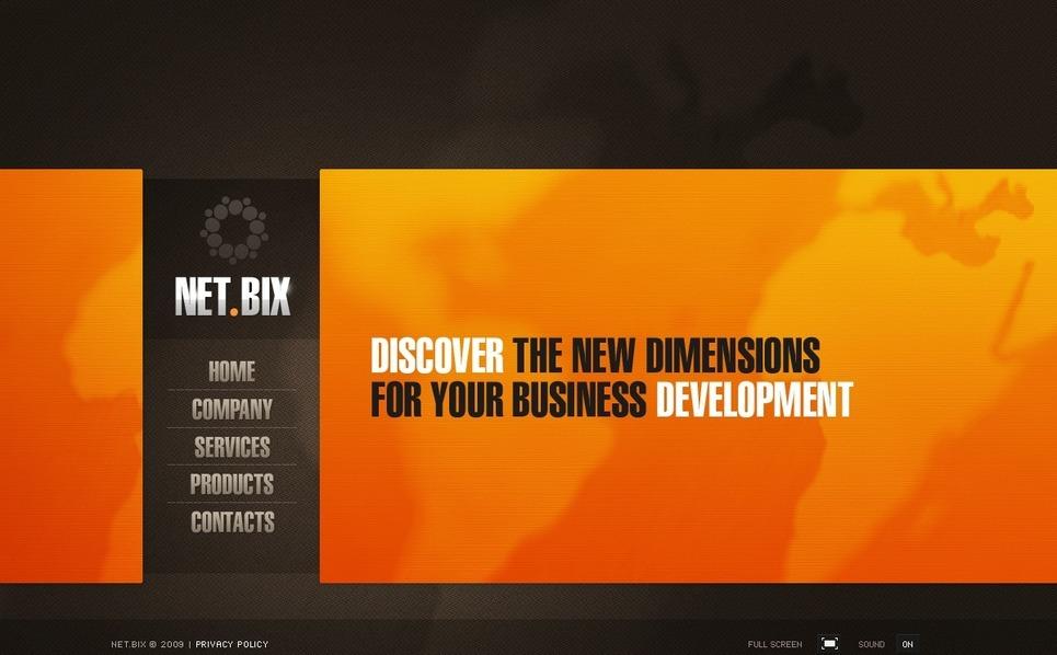 Flash CMS шаблоны №26038 на тему Бизнес и услуги New Screenshots BIG