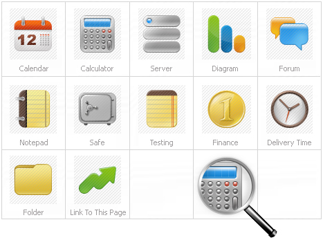 Icon Set Template 26138 Screenshots