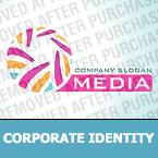 Media Corporate Identity Template 26221