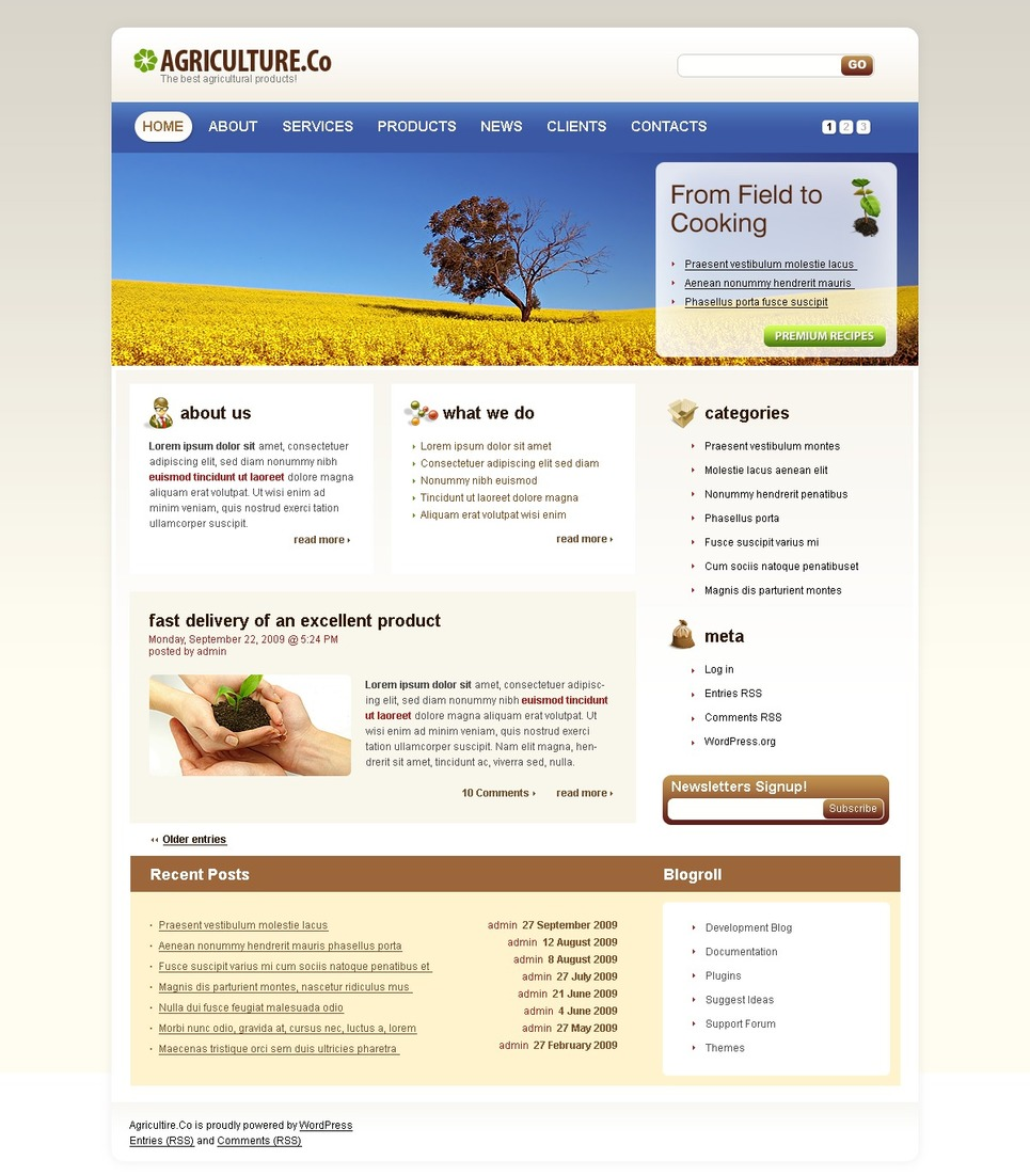 Template site de rencontre wordpress