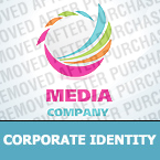Media Corporate Identity Template 26288