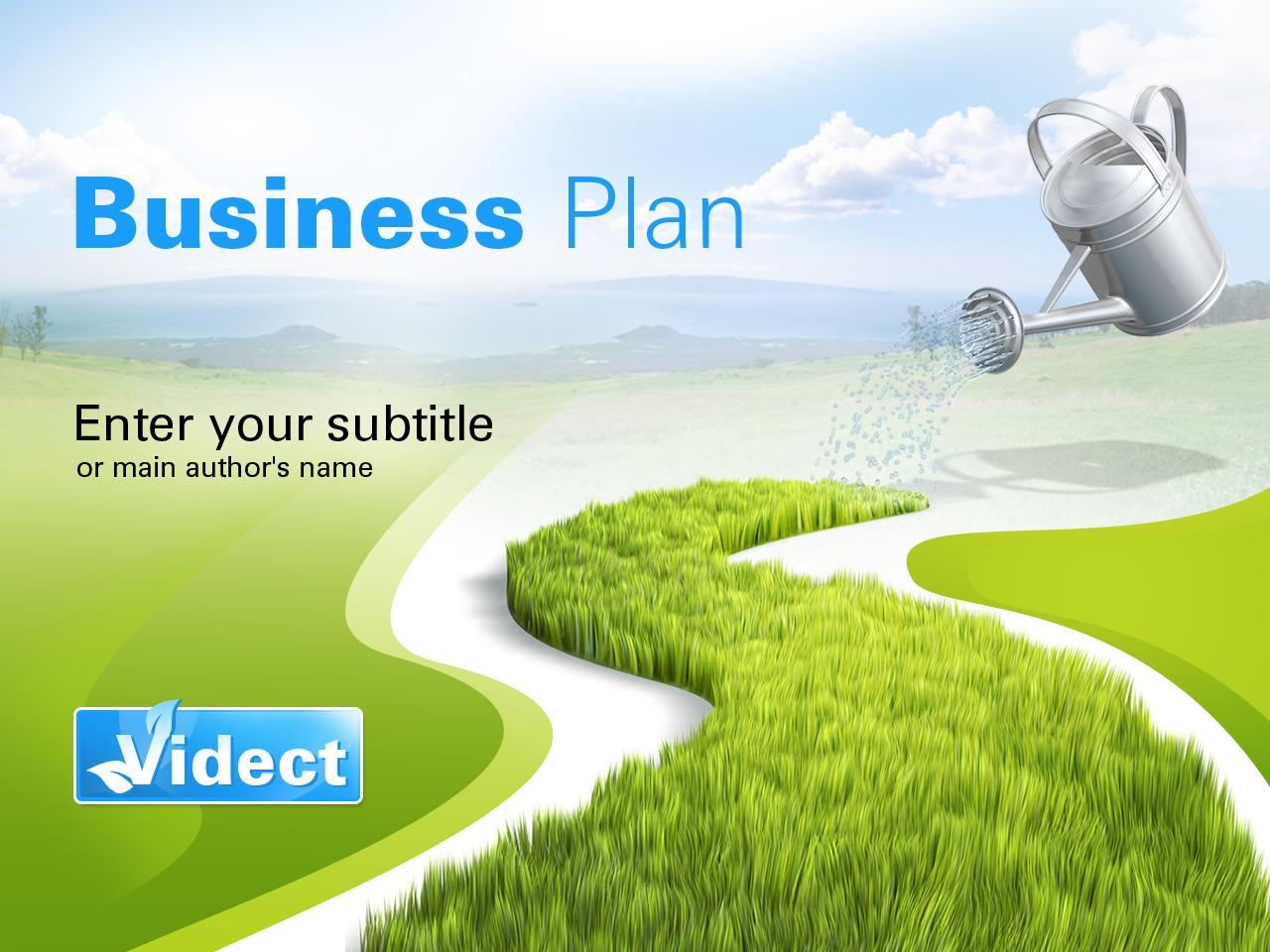 商业与服务PowerPoint 模板 #26285