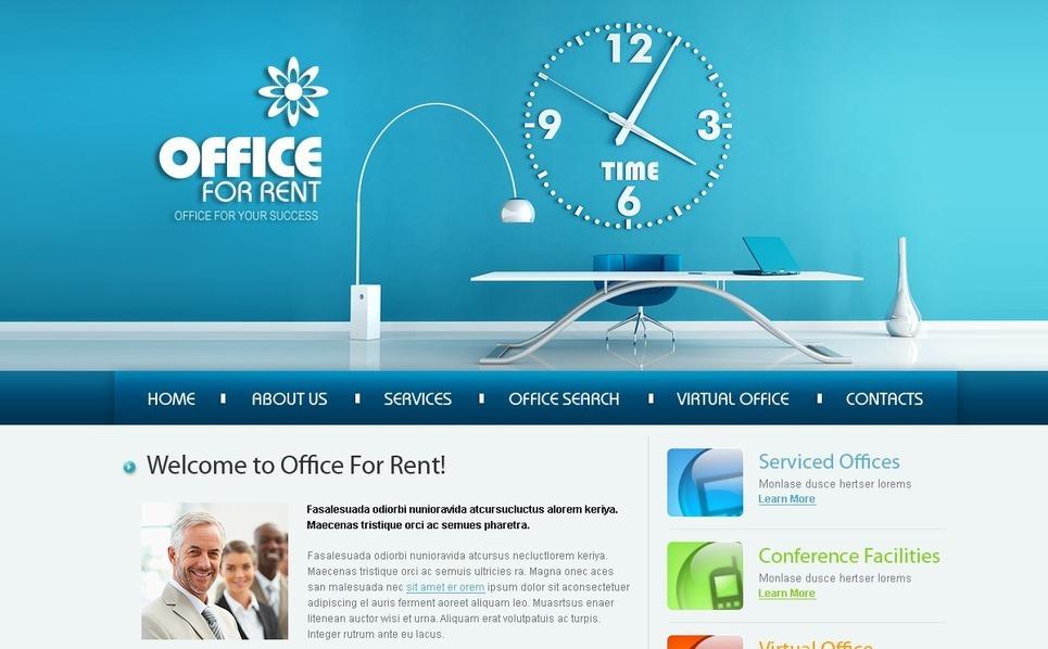 Modello siti web per un sito di ufficio for Siti web di home plan