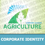 Agriculture Corporate Identity Template 26376