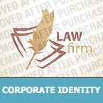 Law Corporate Identity Template 26377