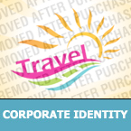Travel Corporate Identity Template 26488