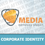 Media Corporate Identity Template 26491