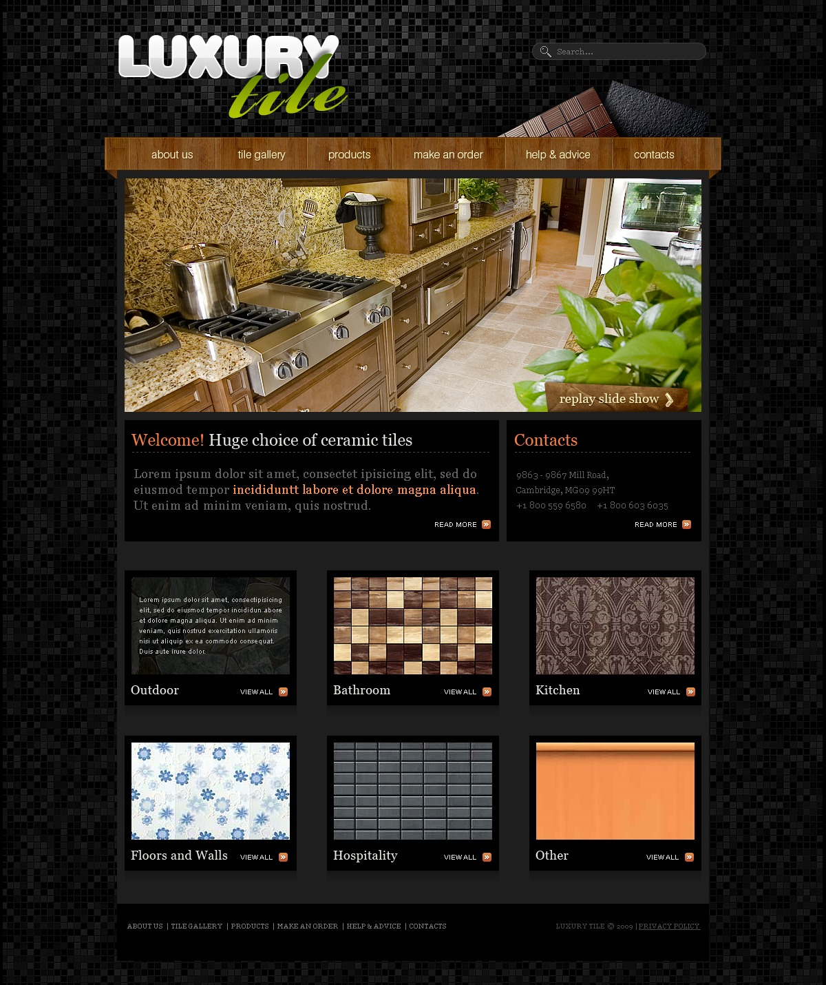 Home Decor Best Websites: Home Decor Website Template #26409