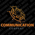 Communications Logo  Template 26548