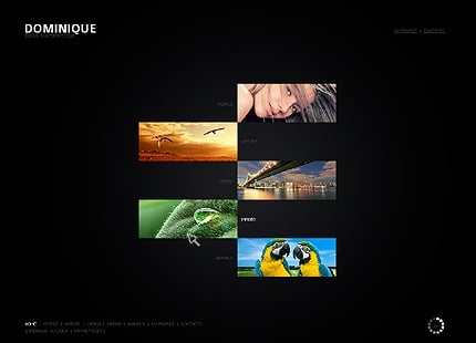 ADOBE Photoshop Template 26566 Home Page Screenshot