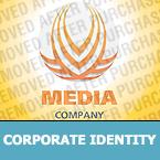 Media Corporate Identity Template 26621