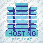 Web Hosting Logo  Template 26635