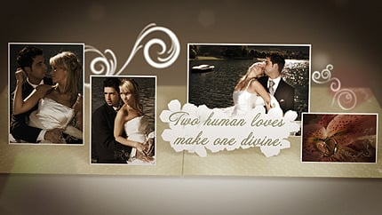 Wedding Album After Effects Intro AE Intro Screenshot