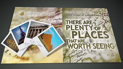 Заставка After Effects №26663 на тему путешествия