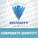 Security Corporate Identity Template 26729