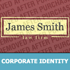 Law Corporate Identity Template 26735