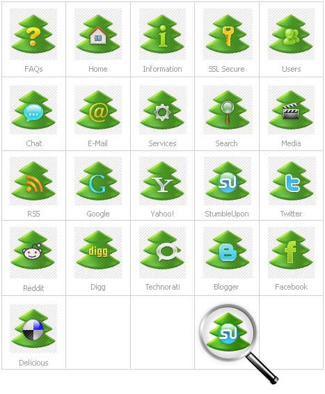 Icon Set Template 26835 Screenshots