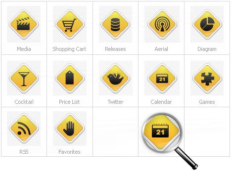 Icon Set Template 26843 Screenshots