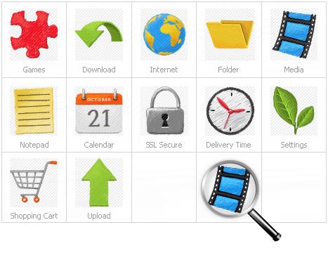 Icon Set Template 26846 Screenshots