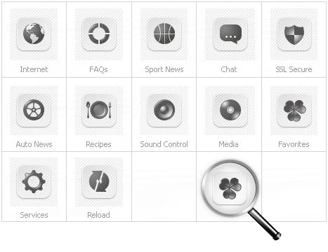 Icon Set Template 26849 Screenshots