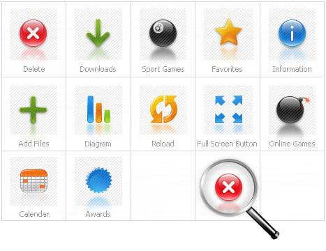 Icon Set Template 26850 Screenshots