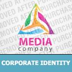 Media Corporate Identity Template 26876